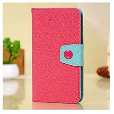 Samsung Galaxy Note 3 Leather Wallet Flip Pouch Stand Case Cover with Card Slot