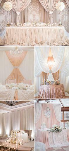 12 best head table wedding decorations images wedding decoration rh pinterest com