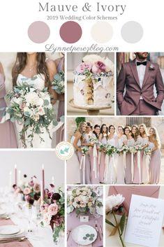 Wedding colors schemes fall mauve 57 Ideas - Judy E. Dream Wedding, Wedding Day, Summer Wedding Themes, Trendy Wedding, Unique Weddings, Wedding Gifts, Pastel Weddings, Wedding Cross, Blue Weddings