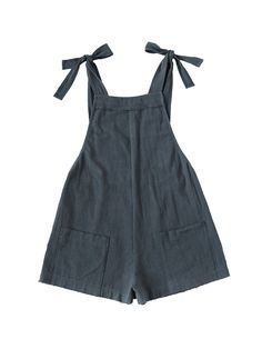 Women's Clothing, Jumpsuits, Rompers & Overalls, Women's Casual Cotton Bib Shortalls Romper Jumpsuits with Pockets - Navy - Color: Navy SKU: Gift-wrap: Available Look Fashion, Kids Fashion, Fashion Outfits, Womens Fashion, Fashion Design, Overalls Fashion, Overalls Style, Overalls Women, Feminine Fashion