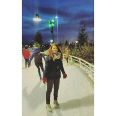 My  for ice skating is endless... by marijatriukaite