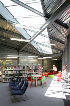 Gallery of Poix-Terron Cultural and Sport Centre / philippe gibert architecte - 4