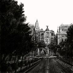 Cibeles desde Alcalá