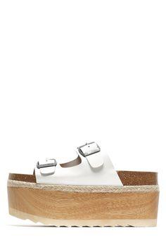 ec99d363712 Jeffrey Campbell Shoes AURELIA-2 Oh So Hottt! in White Espadrille Sandals