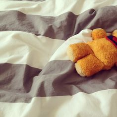 I have a bear just like this one. It was the first teddy bear I was given.
