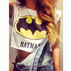 Batman crop top Fashion: tops