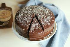 Cinnamon Girl: Chocolate Boston Cream Cake