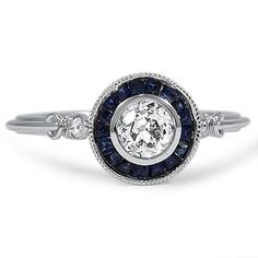 The Lake Ring from Brilliant Earth.  This ring is perfect. It's vintage looking and still fresh feeling. :)