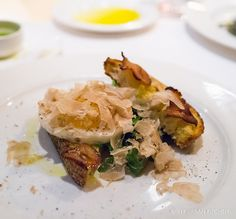 Duck Egg + Toast topped with shaved white truffles from Ristorante (New York City) New York Thanksgiving, Urban Kitchen, Momofuku, White Truffle, Egg Toast, Yorkie, Truffles, Kendall, New York City