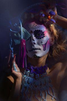 Sugar Skulls by Saara Sarvas, via Behance