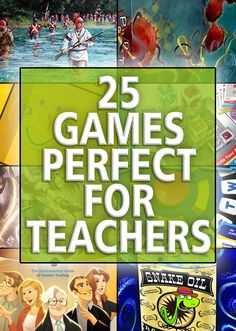 Whether you're a teacher at school or at home, these 25 games will add some fun to your lesson plans. - SahmReviews.com