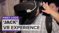 """""""Jack,"""" an immersive experience that combines virtual reality with a live actor, was one of the hardest screenings to get into at this year's Tribeca Film Fe. Tribeca Film Festival, Immersive Experience, Vr, Let It Be"""