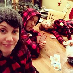 Order your own matching family pajamas like this Canada plaid design from Snug As a Bug. #snugasabug #matchingpajamas #christmasmagic #christmaspajamas #familyfun #holidaylikeyoumeanit