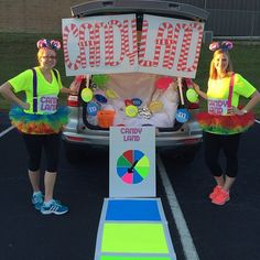 55 Thrilling Trunk-or-Treat Ideas Candy Land Trunk Candy Land trunks always go over really well. Source: Instagram user anbrewer
