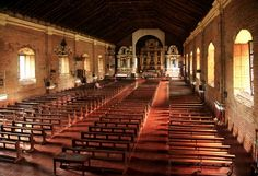 Sarrat Church is said to have the longest aisle. Check Out our visit to this enchanting place. -  http://sentimentalgroove.com/2013/12/25/sarrat-church-the-longest-aisle/