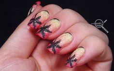Mikrosvet by Ellen: BNA challenge Letní písková manikúra Class Ring, Challenges, Nail Art, Nails, Beauty, Ongles, Nail, Cosmetology, Beauty Illustration