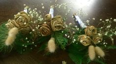 Raw flax buttonholes