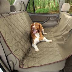 Youll Be Jealous Of Your Canine When They Travel In This Hammock Seat Cover Pet Car