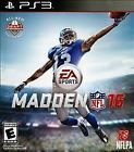 Madden NFL 16 (Sony PlayStation 3 2015)