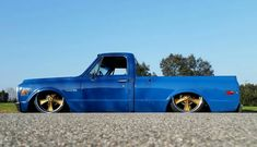 67 72 Chevy Truck, Chevy Trucks, Bagged Trucks, Hot Rides, Dream Garage, Classic Trucks, Custom Cars, Chevrolet, School