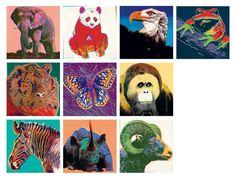 Image result for andy warhol endangered species prints