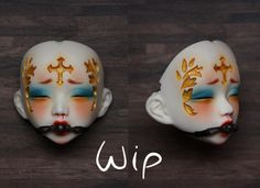 "Painful Pleasures, WIP xx1 by jade.citronrouge on Flickr.[Unoa Lusis ""O"" Faceplate]"