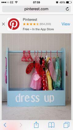 Dress up area