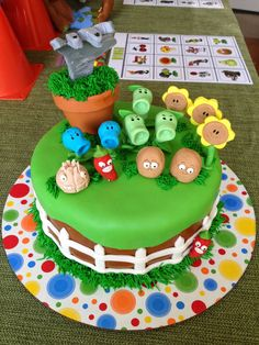 Meet the Plants vs Zombies gang, in fondant! | Plants vs Zombies ...