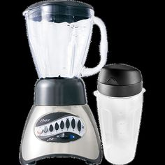 Liquidificador Oster 6826 12 Velocidades Jarra de Vidro + Jarra para Vitamina Inox 450W - Shoptime