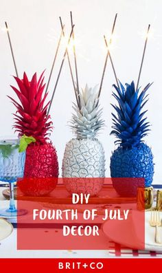 Save this for the best July 4th decor to make ASAP.