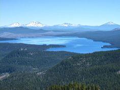 Waldo lake, Oregon cascades
