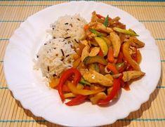 Čína s divokou rýží   Žij zdravě Meat, Chicken, Food, Essen, Meals, Yemek, Eten, Cubs