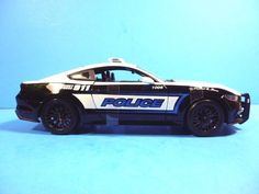 MAISTO 1:18 SCALE DIECAST MODEL CAR - 2015 FORD MUSTANG GT POLICE CAR #Maisto #Ford