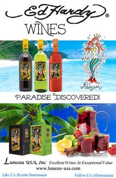 #sangria #edhardy Delicious Ed Hardy Sangria: Paradise Discovered. Enjoy. wink emoticon