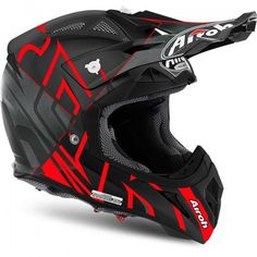 Airoh Aviator 2.2 Styling Red Motorcycle Helmet Design, Dirt Bike Gear, Cool Motorcycle Helmets, Motorcycle Equipment, Motocross Gear, Cool Motorcycles, Bmx Bikes, Dirt Biking, Carbon Fiber Helmets