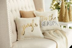 Decorate your home with a little holiday sparkle this holiday season! This Sequin Pillow is just stunning! Winter Wonderland Christmas, Christmas Room, Gold Christmas, Christmas Balloons, Xmas, Merry Christmas, Christmas Cushions, Christmas Pillow, Christmas Sweaters
