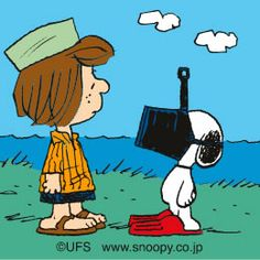 Snoopy diver