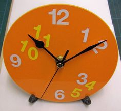 CD alarm clock craft ideas for school kids