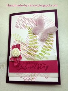 Handmade by Fanny Up, Blog, Material, Happy Birthday, Frame, Handmade, Home Decor, Paper, Die Cutting