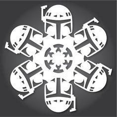 2013 Star Wars snowflake designs