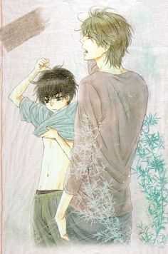 Title: Super Lovers Author: Abe Miyuki Chapter: 18.5 Rating: PG Pages: 8 Summary: A short extra dealing with the beach chapter! Seems l...