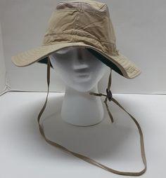 7f6957460ac Adams Sunblock Collections 45+upf Sun Hat Size XL Chin Strap Outdoors  Fishing  Adams