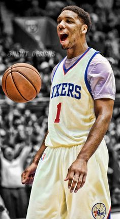 Jahlil Okafor Jersey Swap - Philadelphia 76ers by NewtDesigns on @DeviantArt
