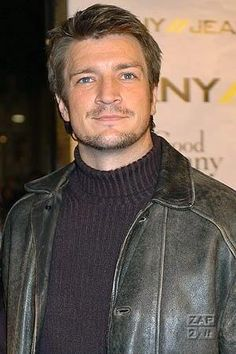 My geek heartthrob,Nathan Fillion, with facial hair! [swoon] (I know it's not a lot of hair, but I'll take it. Nathan Fillion, I Love Beards, Richard Castle, Castle Tv Shows, Charming Man, Firefly Serenity, Nerd Love, Man Images, Stana Katic