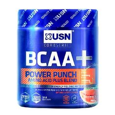 USN BCAA Power Punch Watermelon 400g - 400g Tasty watermelon flavour supplement designed to support your training goals Zero sugar  zero carbs Formulated to help reduce fatigure  give you that extra boost during intense workout sessions For f http://www.MightGet.com/january-2017-11/usn-bcaa-power-punch-watermelon-400g--400g.asp