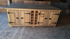 Wood Creations, Outdoor Furniture, Outdoor Decor, Outdoor Storage, Buffet, Cabinet, Creative, Home Decor, Clothes Stand