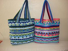 Ravelry: The Katie Tote pattern by sabrina goodson - Buy pattern Mochila Crochet, Crochet Tote, Crochet Handbags, Crochet Purses, Knit Or Crochet, Bead Crochet, Crochet Shell Stitch, Crochet Stitches, Crochet Patterns