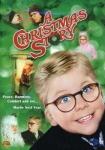A Christmas Story Movie, one of my faves, watch it every year while I wrap presents!