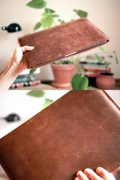 Macbook Air, Macbook Pro 13 Case, Leather Laptop Case, Laptop Bag, Leather Briefcase, New Ipad Pro, Leather Projects, Leather Craft, Etsy