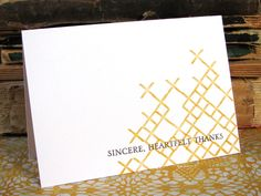 Sincere Thanks Card by @Jess Liu Witty